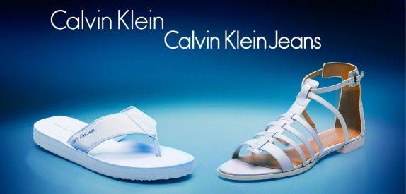 Calvin Klein Sandalen Calvin Klein Sandalen & Sandaletten bei vente privee