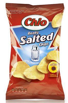 5er Pack Chio Ready Salted Chips für 4,34€   Plus Produkt
