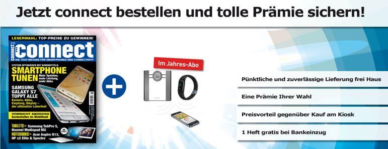 Connect   13 Ausgaben des Technik Magazin günstig dank Prämien
