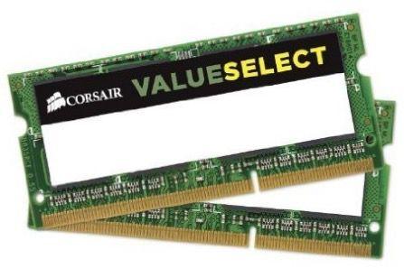 Corsair Notebook Arbeitsspeicher 16GB (2 x 8GB) für 41,55€ (statt 63€)