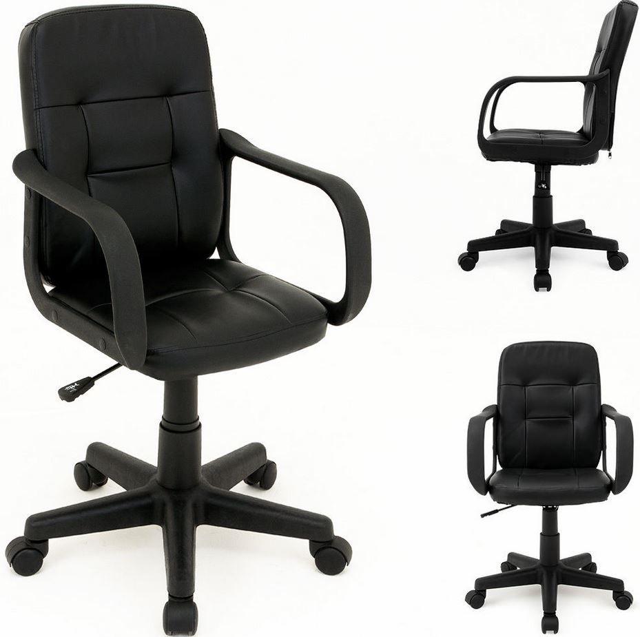 Deuba Basel   einfacher Büro Drehstuhl für 29,95€