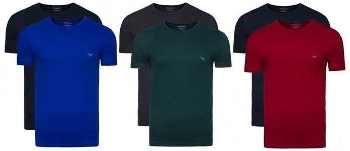 Emporio Armani Shirt 2er Pack Emporio Armani Shirts & Boxershorts ab je 14,46€