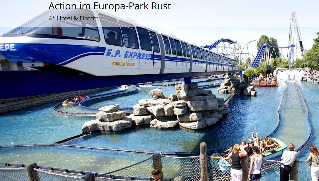 Europa Park Rust Europa Park Rust + 4* Hotel Windenreuter Hof mit Frühstück ab 89€ p.P.