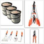 FUXTEC FX-HGW-SET1 – Gartenpflege Set 11 teilig für 39,99€