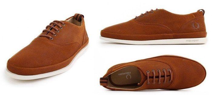 Fred Perry Lawson Leather Tan Schuh für 86,33€ (statt 119€)