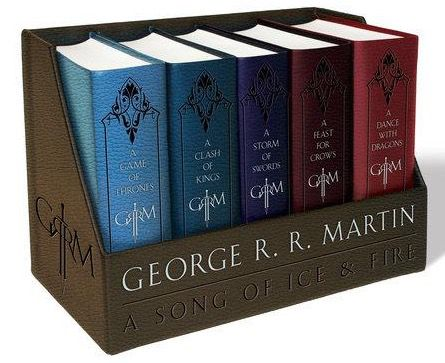 Game of Thrones   Ledergebundene Buchreihe auf Englisch für 39,62€(statt 53€)