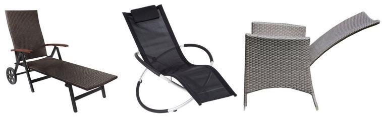 Gartenstühle und Sonnenliegen heute bei Amazon mit bis zu 50% Rabatt!