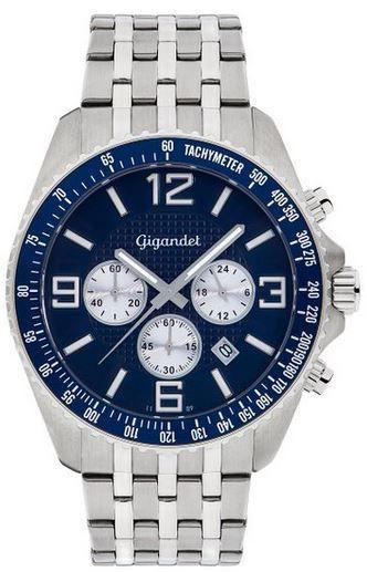 Gigandet Fast Track Gigandet Fast Track Herren Uhr mit Mineralglas und Seiko Kaliber VD53 statt 84€ für 69,29€