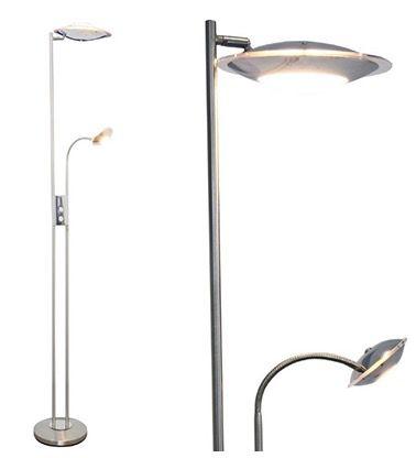 Globo Levos LED Globo Levos LED Deckenfluter 16W + 4,5W Lampe für 39,95€ (statt 70€)
