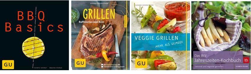 Terrashop mit günstigen Koch und Grillbüchern ausserhalb der Preisbindung