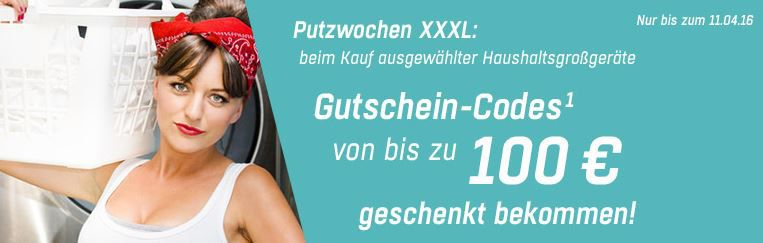 Gutschein Redcoon Haushaltsgeräte mit Geschenkgutschein bis max. 100€