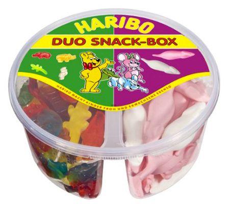 1,89kg Haribo Duo Snack Box Kinder Mix ab 10,50€ (statt 18€)