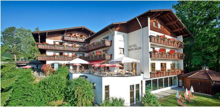 4* Hotel Bergruh Füssen: 2 Personen 3 Tage mit Verpflegung ab nur 159€