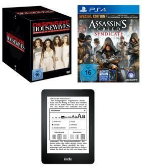 KINDLE VOYAGE 4GB WIFI statt 189€ für 149€   Assassin's Creed Syndicate für 22€   Saturn Online Offers
