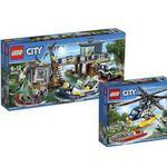 LEGO City-Sets: Verfolgung im Hubschrauber & City Polizeiwache statt 76€ für 60,89€