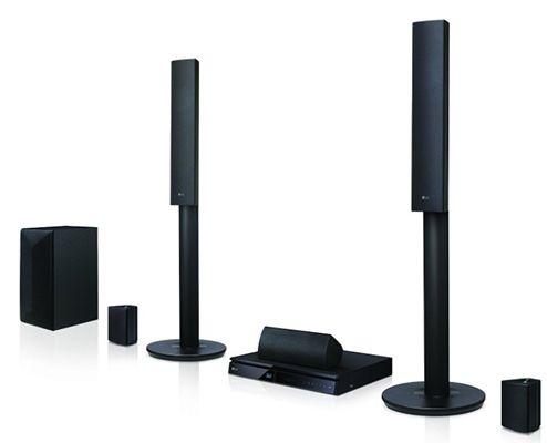 LG LHA745 5.1 3D Blu ray Heimkinosystem für 199€ (statt 244€)