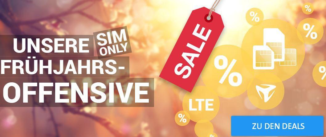LTE O² Allnet Flat + 1GB Daten für nur 6,99€ mtl. + mehr günstige Verträge