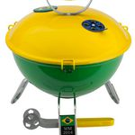 "Landmann Piccolino Mini-Grill ""Team Brasilien"" für 18,98€ (statt 24€)"