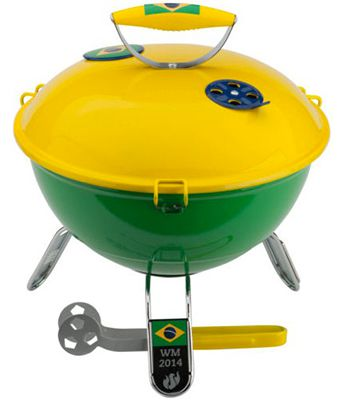 Landmann Piccolino Mini Grill Team Brasilien für 18,98€ (statt 24€)