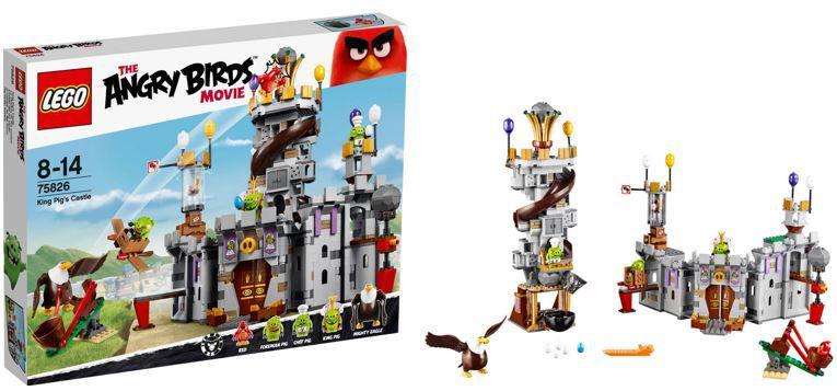 Lego Angry Birds Lego Angry Birds King Pigs Castle für 64€ (statt 85€)
