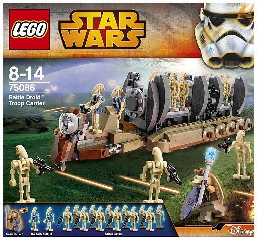 Lego Droids 20% Rabatt auf StarWars Artikel ab 20€   z.B. LEGO Battle Droid Carrier statt 53€ für 39,99€