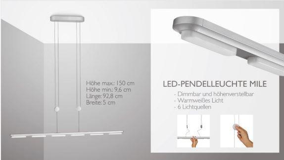 Leuchte Mile Philips LED Lampen günstig bei Vente Privee als Tagesangebot