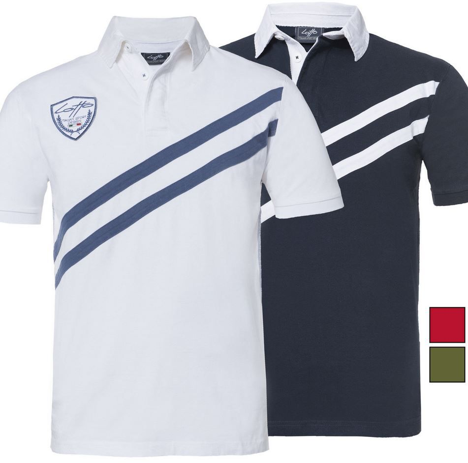 Lotto Poloshirts Lotto Herren Polo Shirts für je 14,99€