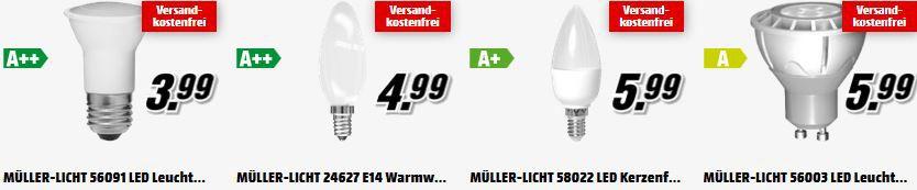 Müller Licht MüllerLicht und Philips   günstige LED Leuchtmittel heute bei Media Markt!