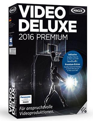 MAGIX Video deluxe 2016 Premium für 65,90€ (statt 92€)