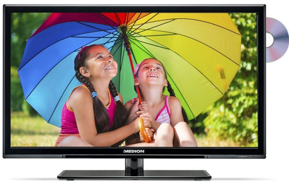 MEDION LIFE P12235 (MD 21335)   24 Zoll FullHD TV mit DVD Player für nur 129,99€