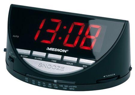 Medion Life E66040 Wecker mit Radio für 7,95€(statt 13€)