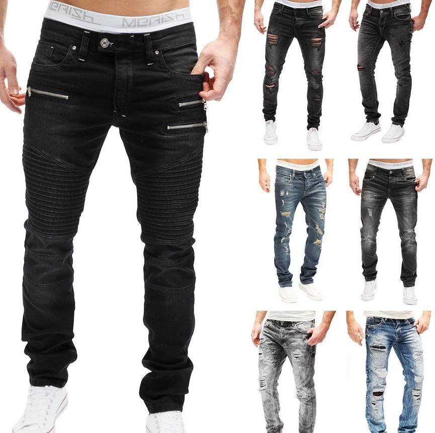 Merish Clubwear Jeans Merish   Destroyed Clubwear Herren Jeans für je 24,90€
