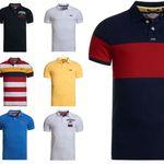 Superdry Herren Poloshirts versch. Modelle und Farben für je 19,95€