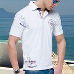 Nebulus Deep Blue – Damen und Herren Polo Shirt für je 19,99€.