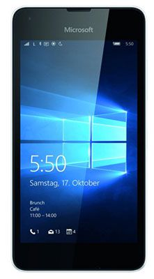 Nokia Lumia 550 Microsoft Lumia 550 Smartphone 8GB für 69,99€ (statt 93€)