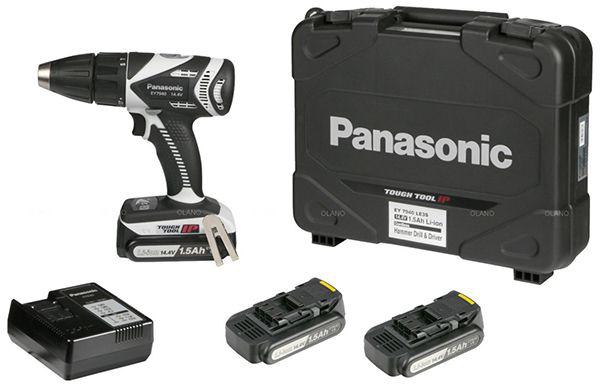 Panasonic Akku Schlagbohrschrauber + 3x 1,5Ah Akkus für 139,90€