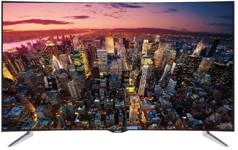 Panasonic TX 55CRW45   55Zoll 3D curved UHD TV für nur 799,99€