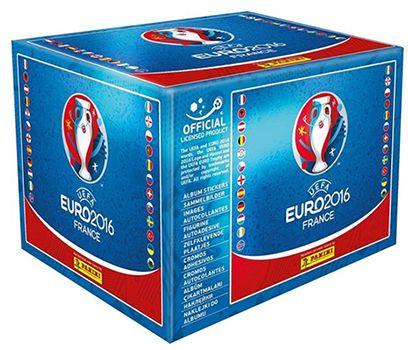 500 Panini Euro 2016 Sticker für 43,99€ (statt 50€)