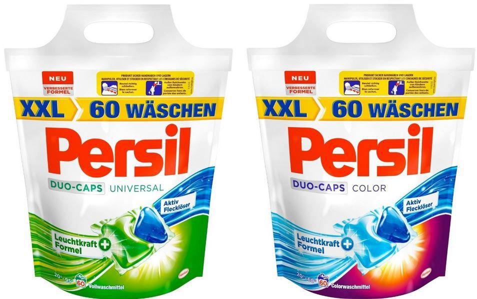 Persil Universal Duo Caps + Persil Color Duo Caps zusammen nur 29,99€