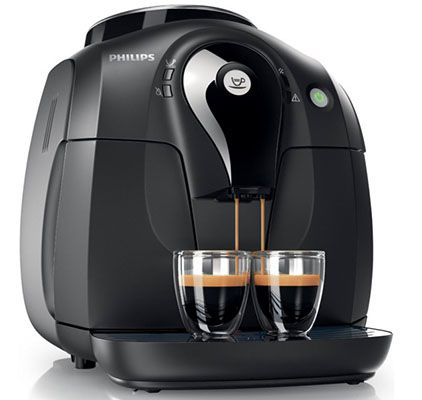 Philips HD8650 Philips HD8650/01 2000 Serie Kaffeevollautomat für 234,99€