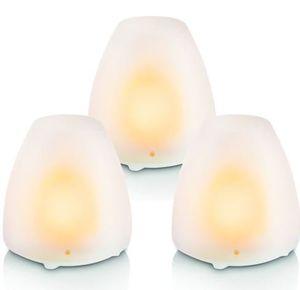 3er Set Philips LED Solar Kerzen für 19,99€ (statt 25€)