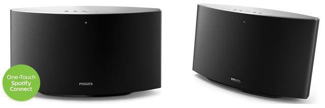 Philips SW750M  Philips SW750M + SW700M Spotify Multiroom Lautsprecher statt 250€ für 107,29€