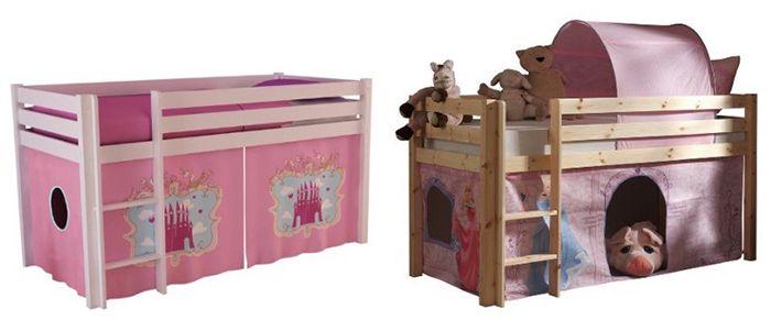 Pino Spielbett Vipack Pino Spielbett Princess oder Castle für 104€ (statt 192€)