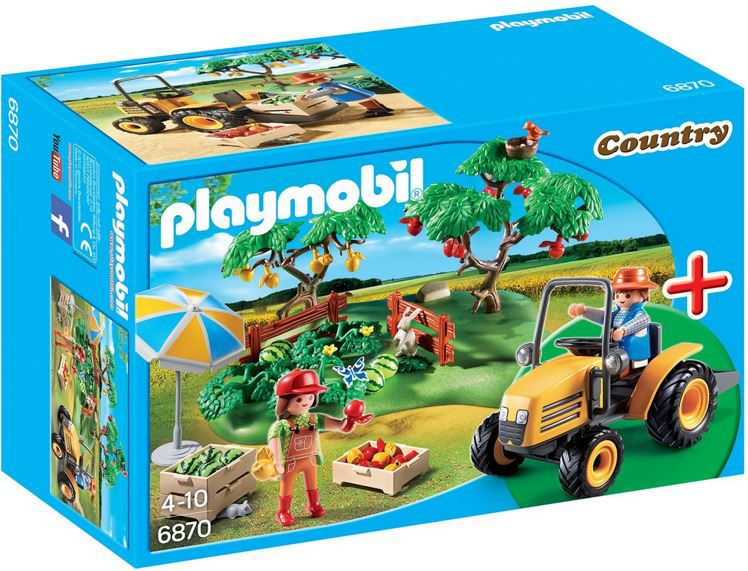 Playmobil Country PLAYMOBIL 6870   StarterSet Obsternte ab 10,31€