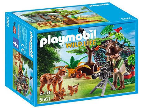 Playmobil Luchsfamilie mit Tierfilmer ab 8,74€ (statt 16€)