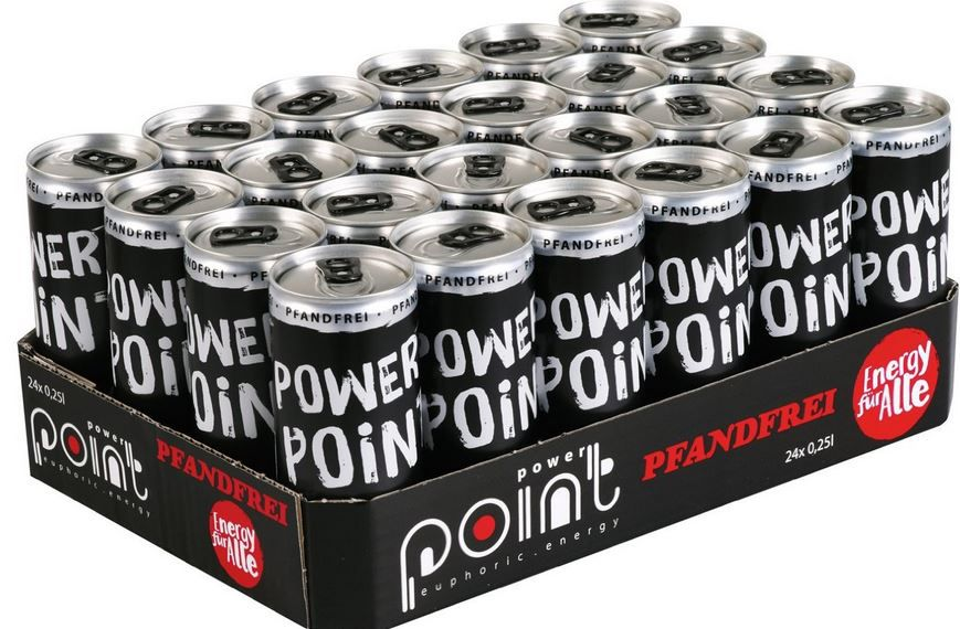 Power Point Energy Drink Classic, 24er Pack (24 x 250 ml) ab 13,19€