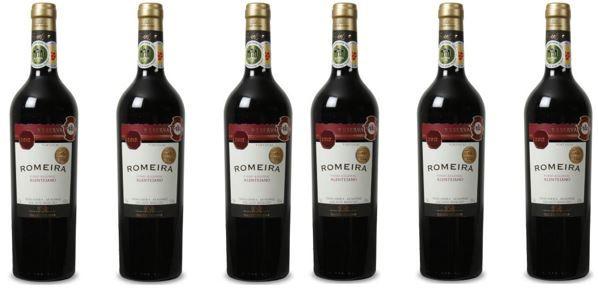 Romeira   Vinho Regional Alentejano Tinto Reserva (2012) portugiesischer Rotwein 6Fl. für 40,92€