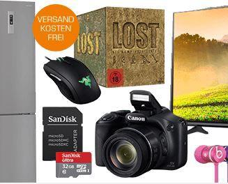 CANON PowerShot SX530 HS Kompaktkamera statt 244€ für 199€ und weitere Saturn Super Sunday Deals