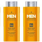 4er Pack Schwarzkopf MEN 2in1 Shampoo für 5,40€ – Plus Produkt