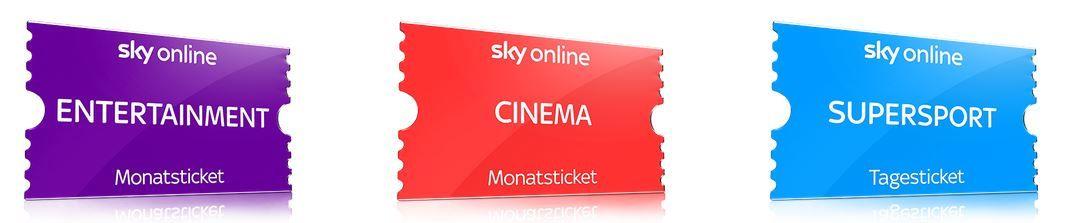 Sky Online TV Box + 2 Monate Cinema + Entertainment dank 10€ Amazon Gutschein für effektiv 19,99€